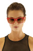 Red Futura Sunglasses Sheriff&Cherry Sunglasses - Another Love