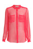 Sheer Silk Shirt Rebecca Taylor Shirts - Another Love