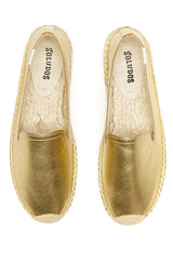 Platinum Leather Espadrille Soludos Shoes - Another Love