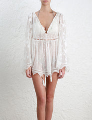 ZIMMERMANN MERCER BIRD FLOATING TOP