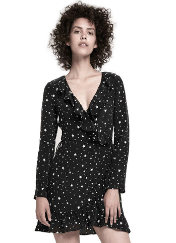 Star Wrap Dress