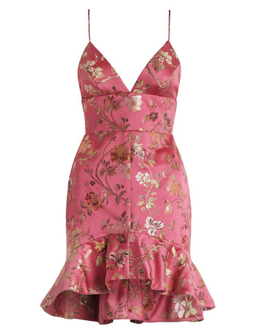 Cavalier Flounce Bodice Dress