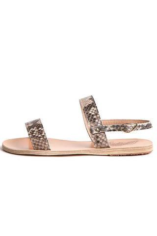 Clio Python Ancient Greek Sandals Shoes - Another Love
