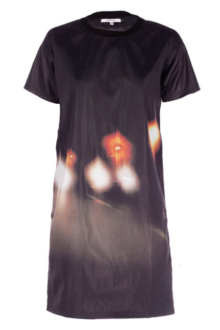 Blurred Light T-Shirt Dress