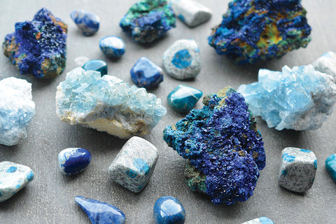 Blue Gemstones for Spiritual Awakening & Serenity