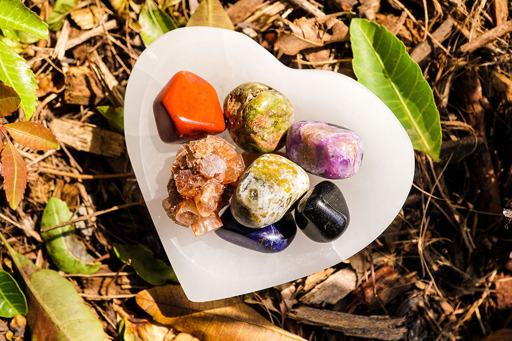 A Crystal Practice to Connect with the Energy of the Earth