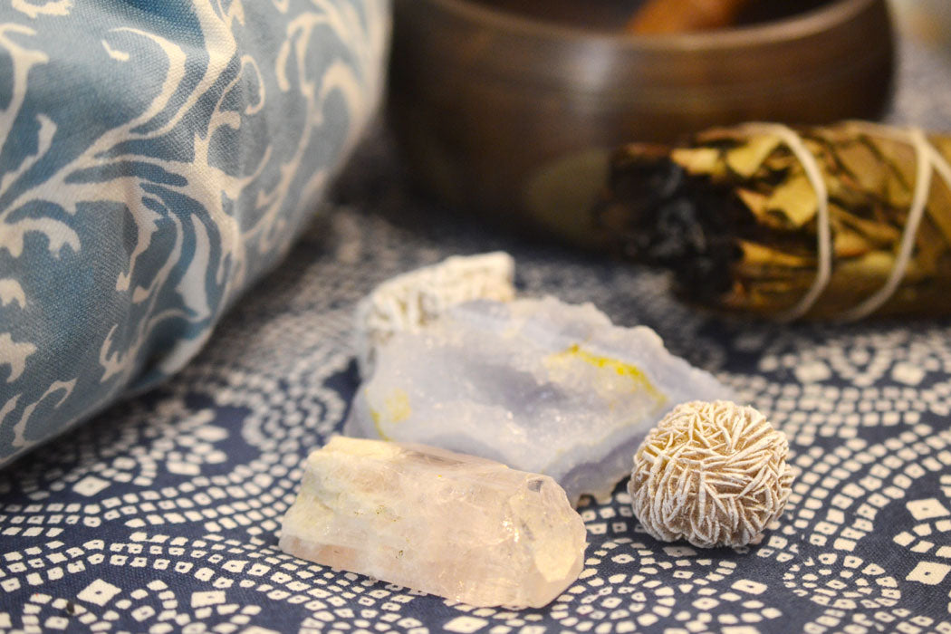 Calming the Mind with a Crystal Meditation for Anxiety