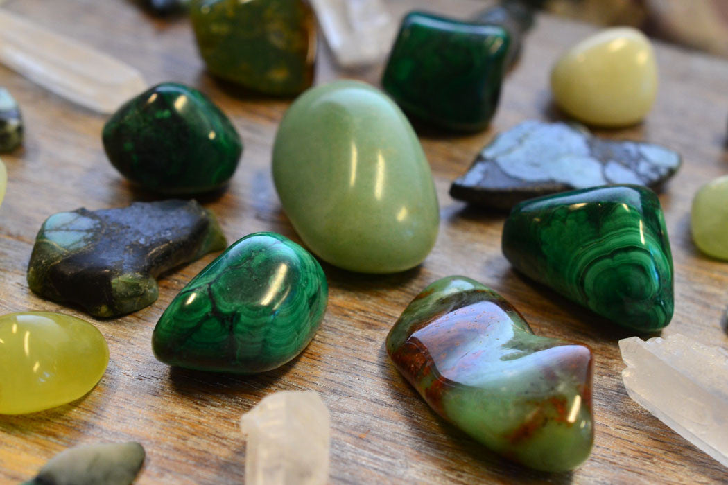 Green Gemstones for Growth, Wisdom & Wealth - Energy Muse