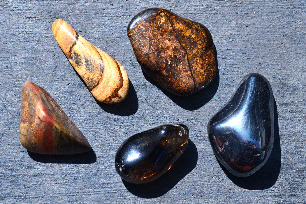 The Benefits of Grounding Crystals
