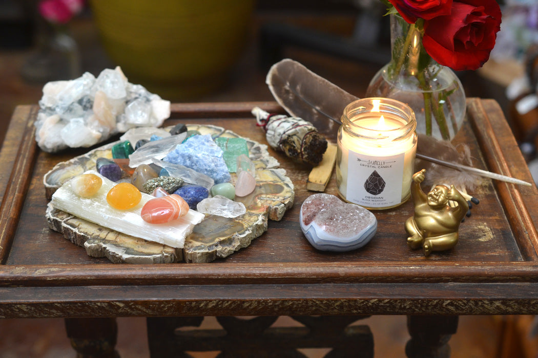 Create A Crystal Altar To Hold The Space For Your Intention Energy Muse