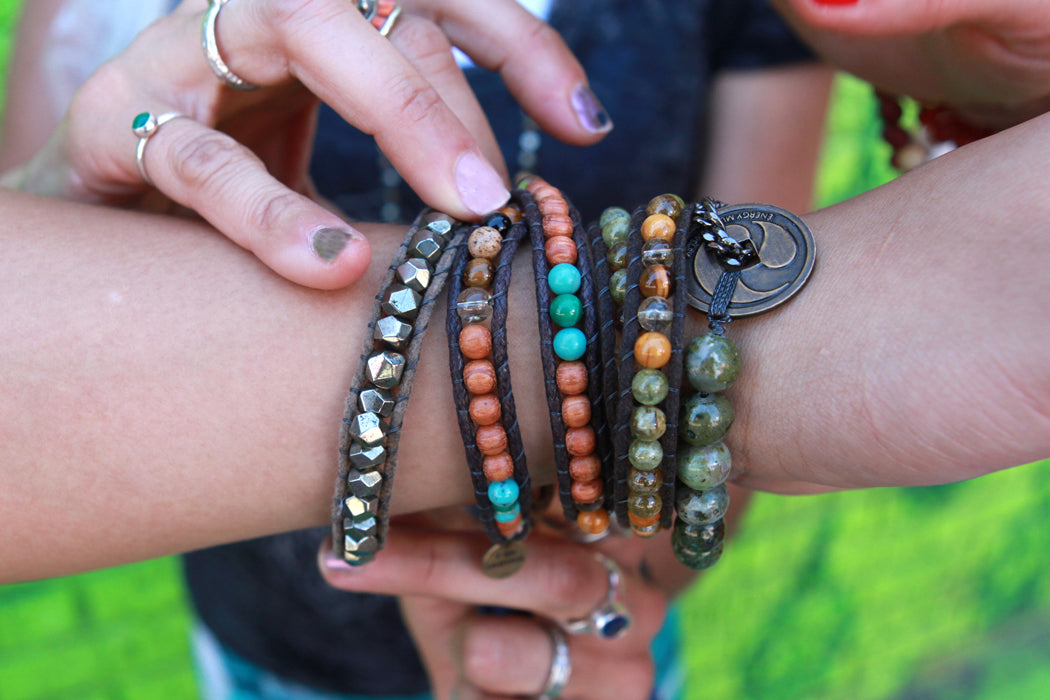 How to Work with Multiple Crystals Or Pieces of Jewelry