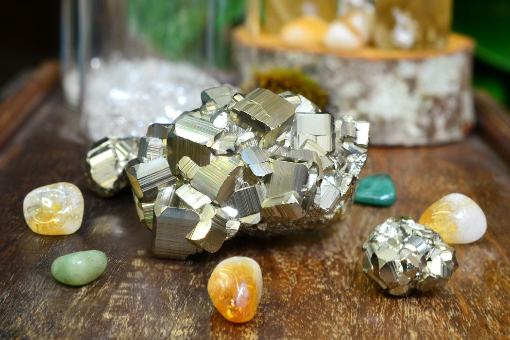 Learn the Pyrite Use for Wealth and Abundance