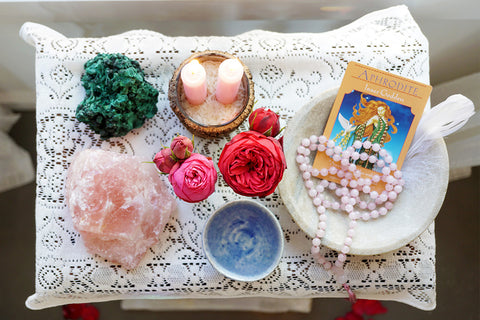 Setting Up an Altar to Hold Your Intention