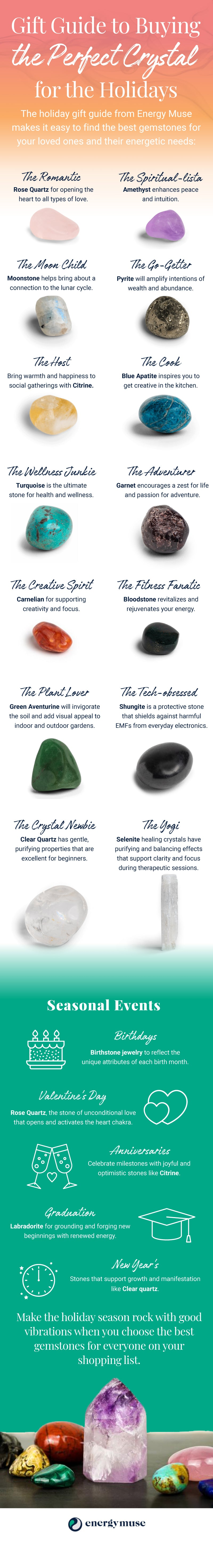 How to Choose a Crystal for Someone Else