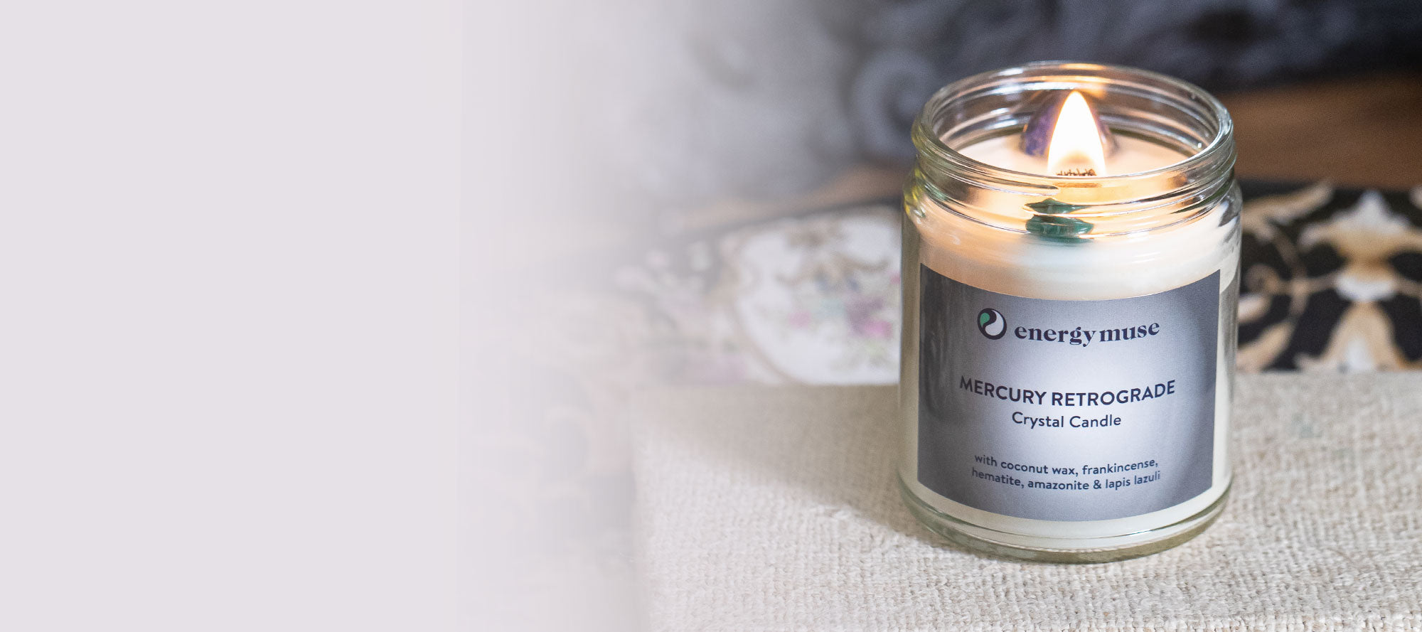 Our Limited Edition Mercury Retrograde Candle is Back!