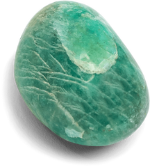Amazonite Touchstone - Palm Stone - Energy Muse