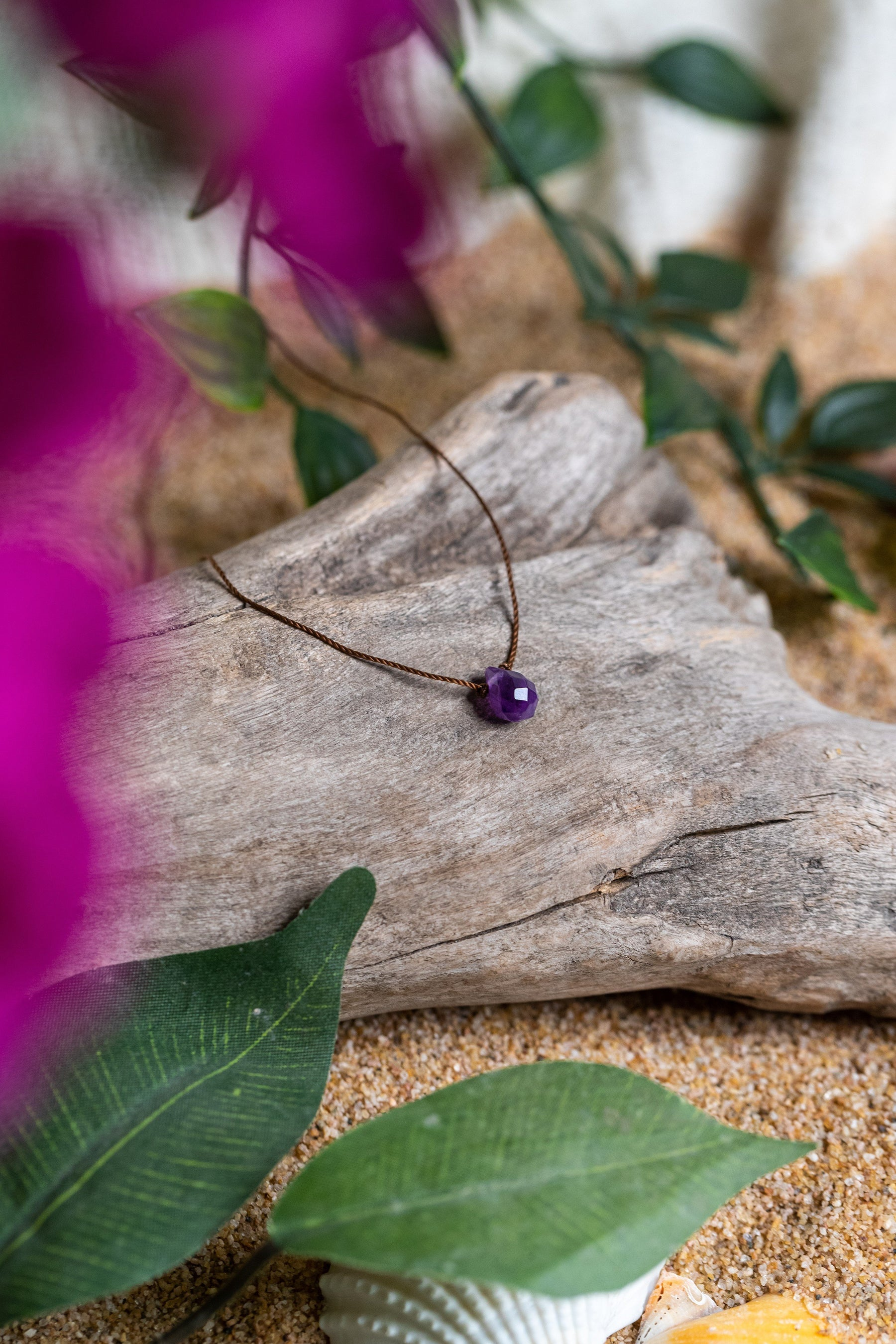 Amethyst Necklace for Wisdom - Energy Muse