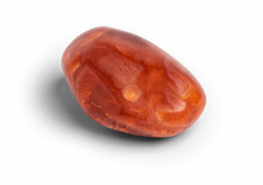 Carnelian Touchstone - Palm Stones - Energy Muse