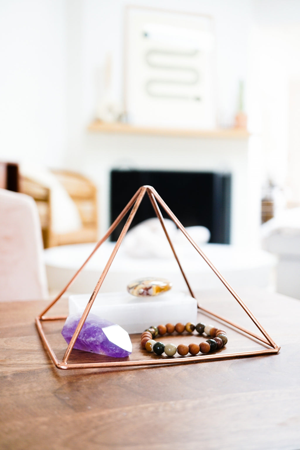 Copper Charging Pyramid - Energy Muse
