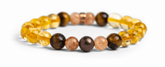 Citrine Bracelet for Happiness - Energy Muse