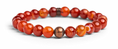 Carnelian Bracelet for Self-Worth - Energy Muse