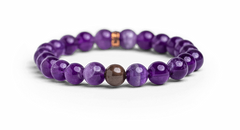 Amethyst Bracelet for Intuition - Energy Muse