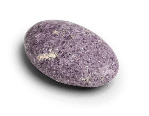 Lepidolite Touchstone - Palm stones - Energy Muse