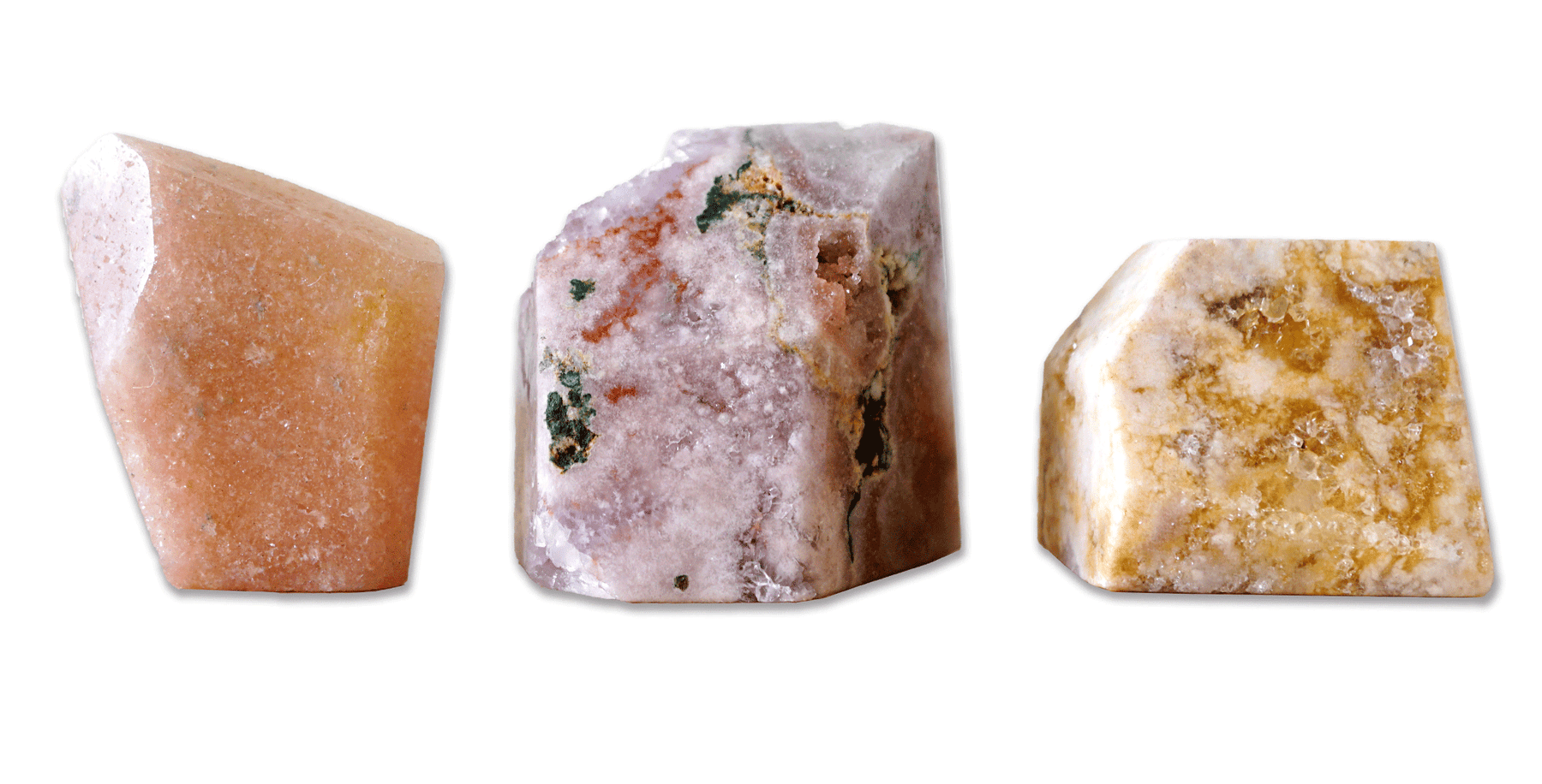 Pink Amethyst Free-form Crystals - Energy Muse