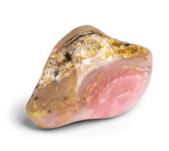 Pink Opal Stone - Tumbled Stones - Energy Muse