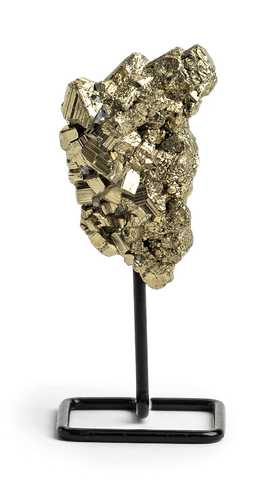 Pyrite Crystal on a Stand - Energy Muse