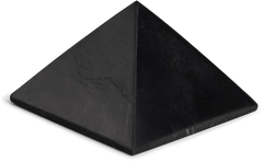 Shungite Pyramid to Block EMFs - Energy Muse