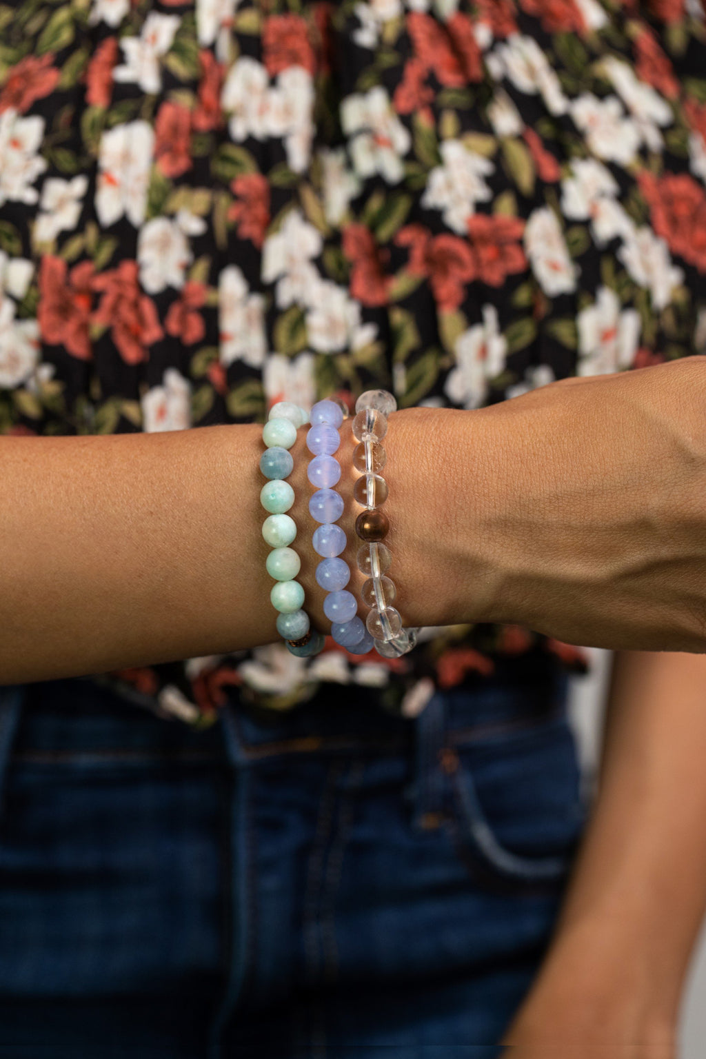 Stress Free Bracelet Set - Energy Muse