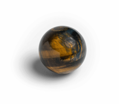 Tiger's Eye Sphere for Courage - Energy Muse