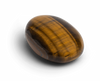 Tiger's Eye Touchstone - Palm Stones - Energy Muse