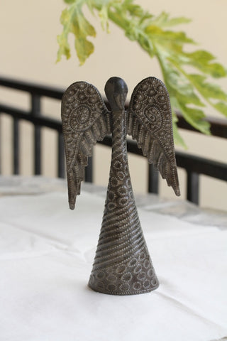 Large Standing Angel Metal Art