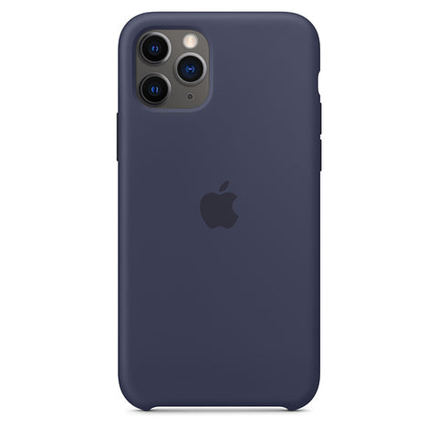 iPhone 11 Pro Silicone Case - Midnight Blue