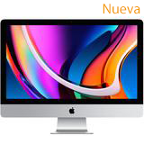 "iMac 27"" with Retina 5K display / 3.1GHz 6-core 10th-generation Intel Core i5 processor/256GB SSD storage/8GB memory"