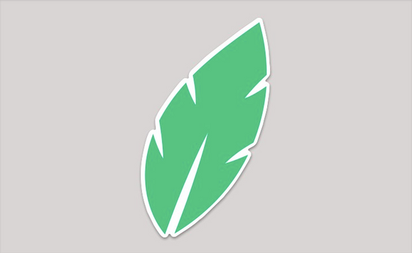 Jungle Leaf Sticker