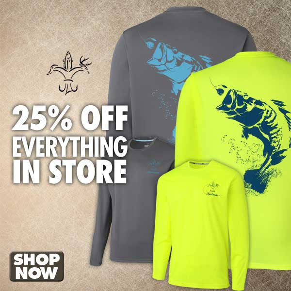 Sportsman Apparel 25% Off Sale