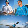 UPF 50+ Cool Breeze Performance Fishing Shirts - Sportsman Gear