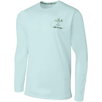 Sportsman Equinox Bass Fishing Shirt - Artic Blue