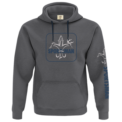 Sportsman Camp Hoodie Large Chest Logo - Castle Rock