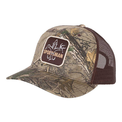 Sportsman Patch Trucker Hat