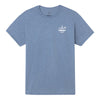 Sportsman Trout Heather Indigo Short Sleeve Shirt