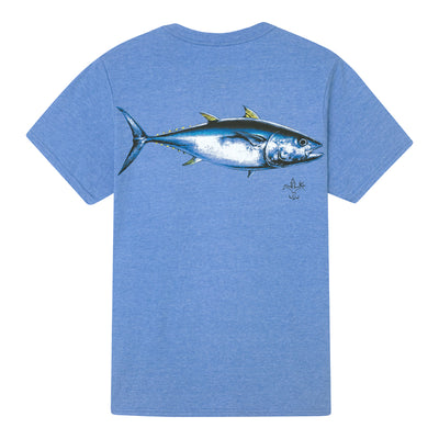Sportsman Tuna Heather Royal Short Sleeve Shirt