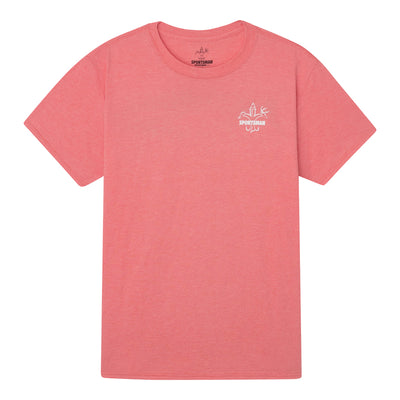 Sportsman Tuna Coral Short Sleeve Shirt