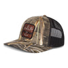Sportsman Camo Patch Hat- Realtree Max 5 / Black