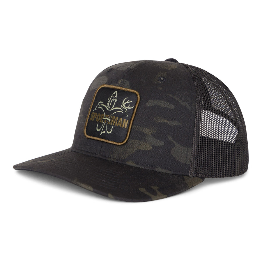 Sportsman Patch Hat MultiCam Black / Black