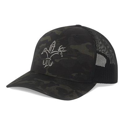Sportsman Camo hat 3D - MultiCam Black