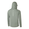 Hydrotech Lightweight Fishing Hoodie - Grey Back - UPF 50+ - Sportsman Gear